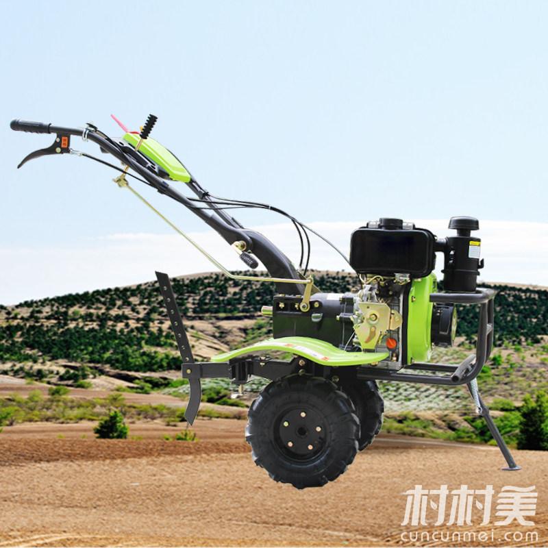 农用微耕机5.5柴油多功能开沟松土拖拉机旋耕机小型
