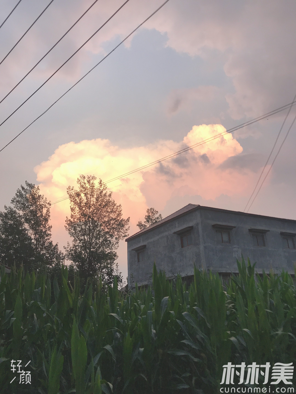 大朱庄的美丽云彩☁