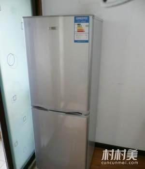 出售:285立升的两开门新飞冰箱