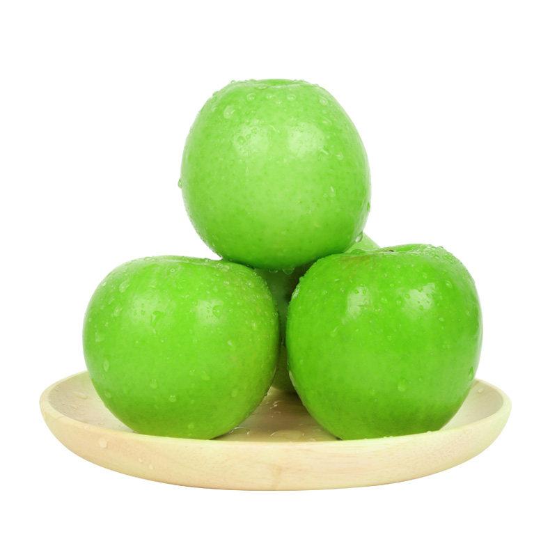 高山青苹果新鲜水果酸甜脆现摘3斤灵宝寺河山特产试吃装孕妇喜欢