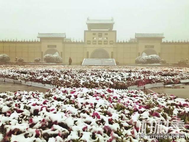 陕州地坑院第一场雪后,美不胜收!
