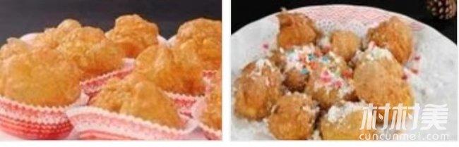 山西晋南美食----泡泡糕